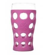 Lifefactory Large Beverage Glass Huckleberry