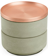 Umbra Tesora Box Concrete/Copper