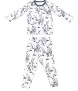 Ensemble pyjama deux pièces en coton biologique Nest Designs Mama Deerest