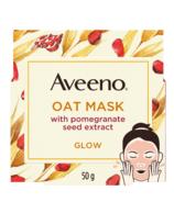 Masque visage Aveeno Glow aux extraits d'avoine et de pépins de grenade