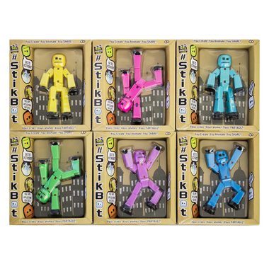 Stikbot Single Box Assorted Colours