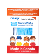 Dent-X Children's Disposable Face Masks