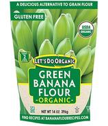 Let's Do...Farine de banane verte biologique