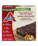 Atkins Peanut Fudge Granola Protein Bars