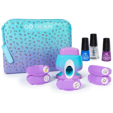 Cool Maker Go Glam Nail Stamper with 5 Patterns to Decorate 125 Nails