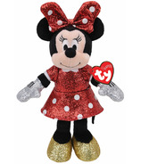 Ty Disney Minnie Super Sparkle Red Regular