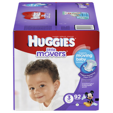Huggies Little Movers Giga Pack Diapers