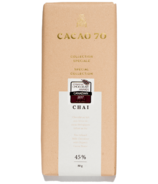Cacao 70 Special Collection Chai Tea-Infused Milk Chocolate