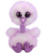 Ty Beanie Boo's Kenya The Lavender Ostrich Regular