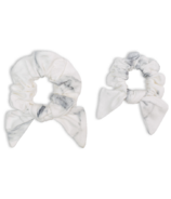 Lulujo Mommy & Me Scrunchies Marble