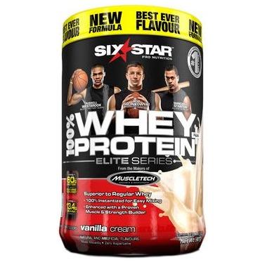 Six Star Pro Nutrition Whey Protein Plus Vanilla Cream