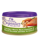 Wellness Signature Selects Chunky Chicken & Salmon Wet Food CASE OF 12