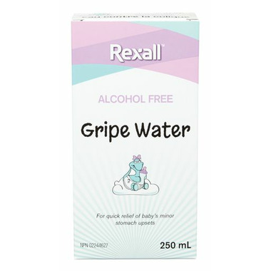 Rexall Alcohol Free Gripe Water