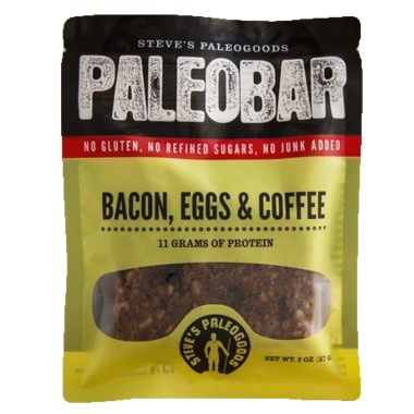 Steve\'s PaleoGoods Bacon, Eggs & Coffee PaleoBar