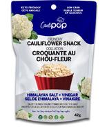 Caulipop Crunchy Cauliflower Snack Himalayan Salt & Vinegar