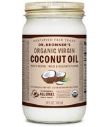 Dr. Bronner's Organic White Virgin Coconut Oil