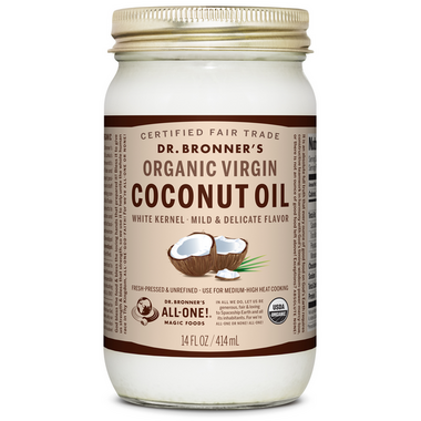 Dr. Bronner\'s Organic White Virgin Coconut Oil