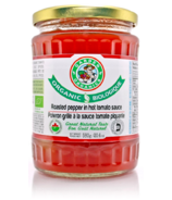 Garden Organics Organic Roasted Pepper In Hot Tomato Sauce
