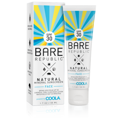Bare Republic Mineral Face SPF 30 Sunscreen Lotion