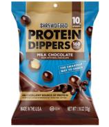 Shrewd Food Protein Dippers Milk Chocolate
