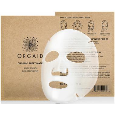 Orgaid Anti-Aging and Moisturizing Organic Sheet Masks