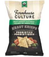 Farmhouse Culture Zesty Garden Vegetable Kraut Krisps