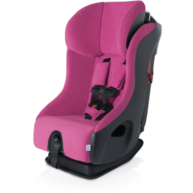 Clek Fllo Convertible Car Seat with Anti-Rebound Bar in Flamingo