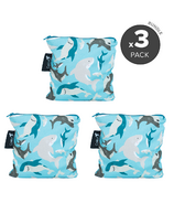 Colibri Large Snack Bags Bundle - Sharks