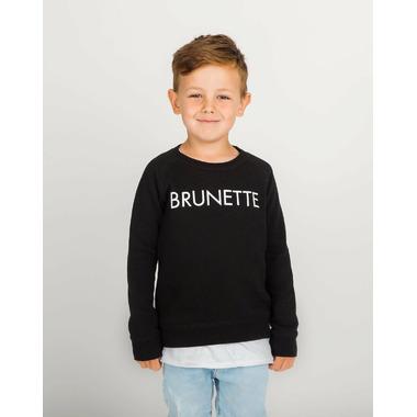 BRUNETTE the Label Brunette Crew Black