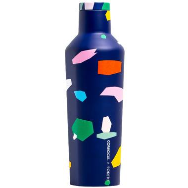 Corkcicle Poketo Canteen Confetti Blue