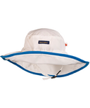Snug As A Bug Adjustable Sun Hat SPF 50+ White & Blue