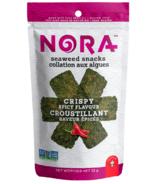 Nora Seaweed Snacks Crispy Seaweed Spicy