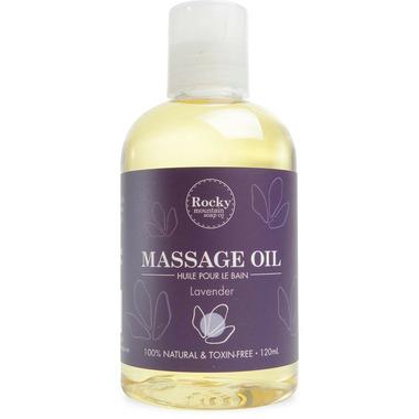 Rocky Mountain Soap Co. Lavender Massage Oil