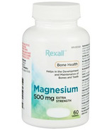 Rexall Magnesium 500mg Extra Strength