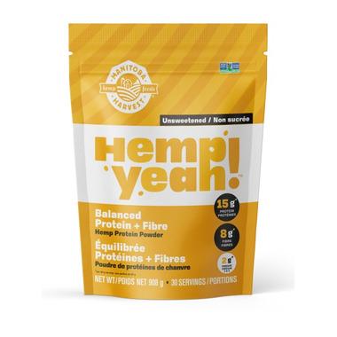 Manitoba Harvest Hemp Yeah Balanced Protein And Fibre Protein Powder