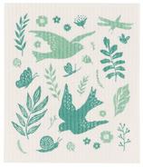 Now Designs Dishcloth Swedish Meadowlark
