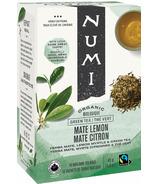 Numi Organic Thé Vert Mate Citron