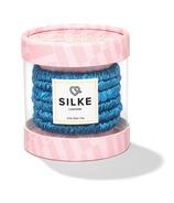 SILKE London Bluebelle Silk Hair Ties Powder Blue