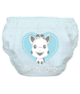 Charlie Banana 2-in-1 Swim Diaper & Training Pant Blue Heart Sophie
