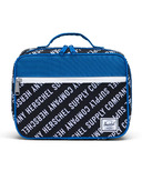 Herschel Supply Pop Quiz Lunch Box Roll Call Black, White & Lapis Blue