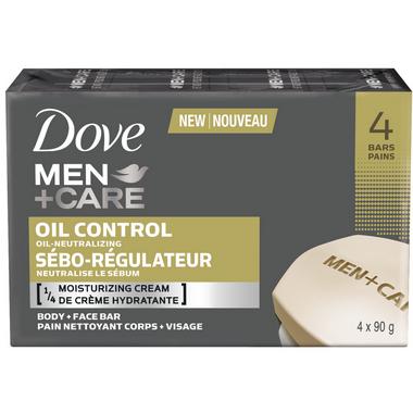 Dove Men +Care Oil Control Body & Face Bar