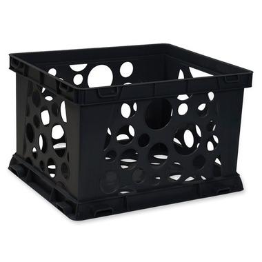 Storex Portable File Crate