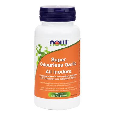NOW Foods Super Odourless Garlic