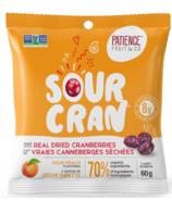 Patience Fruit & Co Sour Cran Dried Cranberries Candies Peach