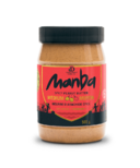 Manba Crunchy Medium Spicy Peanut Butter