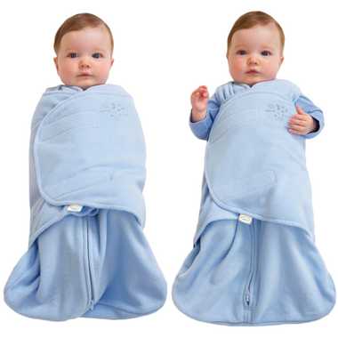 Halo Innovations SleepSack Swaddle Micro-Fleece Blue