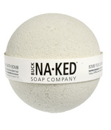 Bombe de bain à la citronnelle et à l'argile verte française Buck Naked Soap Company