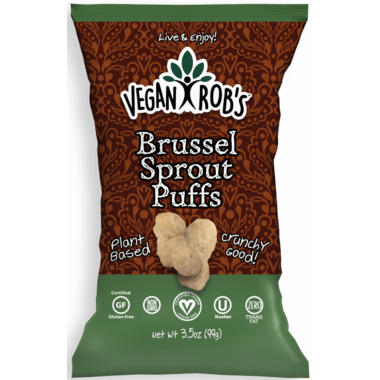 Vegan Rob\'s Brussel Sprout Puffs