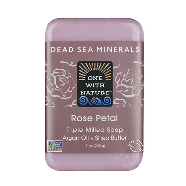One With Nature Rose Petal Bar Soap