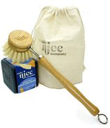 Make Nice Company Dish Soap + Brush Kit Charcoal